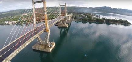 gambar jembatan merah putih