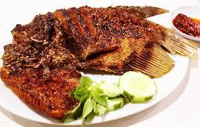 gambar ikan gurame bakar