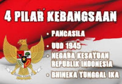 gambar 4 pilar kebangsaan