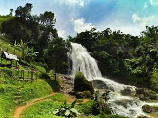 wisata cianjur curug cikondang