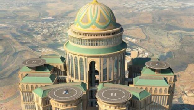 foto abraj kudai mekkah